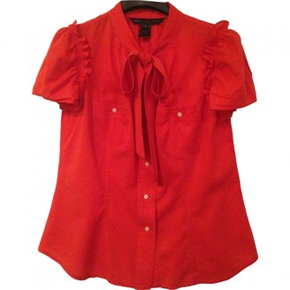 Marc by Marc Jacobs Red Cotton Top for Women