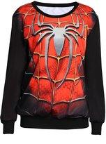 Zanuce Unisex 3d Realistic Print Crew Neck Long Sleeve Pullover Sweatshirts