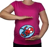 Colour Fashion Maternity Soft Touch Spidrman Baby Superhero Cotton Print Top