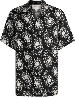 Gucci Oversized Star Print Shirt