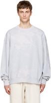 Acne Studios Grey Yana Bleach Sweatshirt