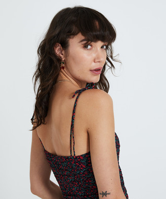 Don't Ask Amanda Shelby Rouched Mini Dress Black
