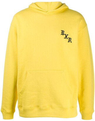 Bornxraised Embroidered Logo Relaxed-Fit Hoodie