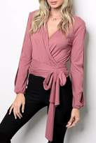 People Outfitter Broadway Wrap Top