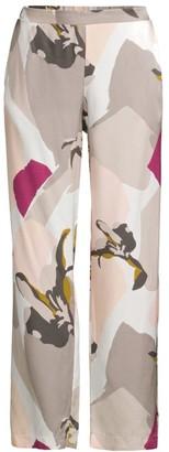 Hanro Phila Graphic Watercolor Floral Pajama Pants