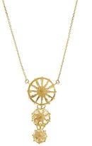 Suzanne Kalan Gold Lemon Quartz Necklace