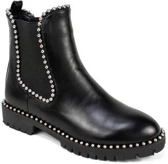 Shelley Seven Dials Studded Ankle Booties Women Shoes