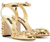 Dolce & Gabbana Embellished Leather Pumps
