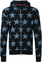 GUILD PRIME stars print hooded jacket