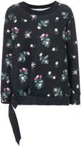 Moncler floral print sweatshirt