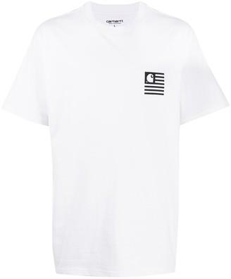 Carhartt Work In Progress State Chromo logo print T-shirt
