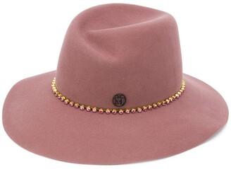 Maison Michel Crystal Embellished Hat
