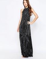 Glamorous Halterneck Maxi Pencil Dress