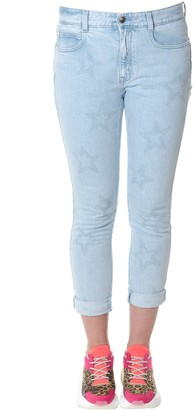 Stella McCartney Sky Skinny Fit Stars Print Jeans