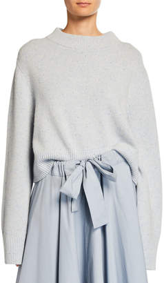 Co Cashmere Wide-Sleeve Boxy Sweater