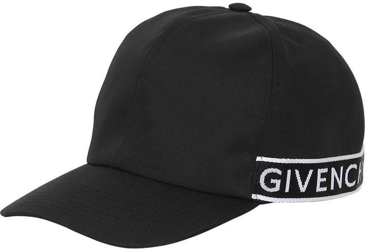 Givenchy Logo Band Nylon Baseball Hat