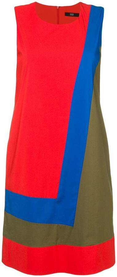 Steffen Schraut colour block dress