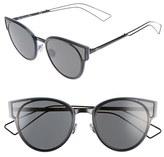 Christian Dior Women's 'Sculpts' 53Mm Sunglasses - Shiny Black