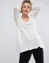Free People Anna Relaxed Long Sleeved Tee