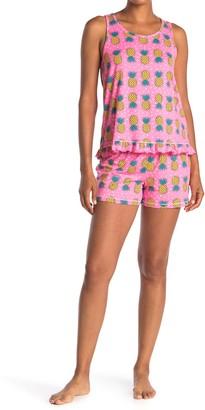 Kensie Patterned 2-Piece Pajama Set