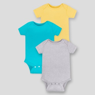 Lamaze Baby 3pk Organic Cotton Bodysuit -