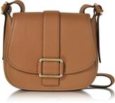 Michael Kors Maxine Large Luggage Leather Saddle Bag
