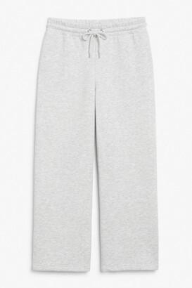Monki Wide leg sweatpants