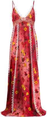 Blumarine x Salvatore Piccione floral day dress
