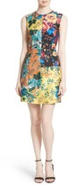 Diane von Furstenberg Women's Tailored Floral Shift Dress