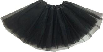 Hotportgift Adult/Women Ballet Tutu Layered Organza Lace Mini Skirt