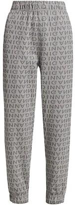Ganni Logo Jogger Pants