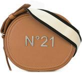 No.21 logo plated cross-body bag