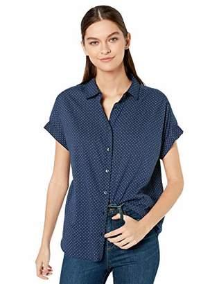 Goodthreads Lightweight Poplin Short-sleeve Button-front ShirtMedium