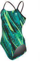TYR Girls' Contact Cutoutfit One Piece Swimsuit 8152942