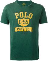 Polo Ralph Lauren logo patch T-shirt