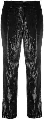 BA&SH Kodi straight-leg trousers