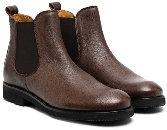 Gallucci Kids TEEN leather Chelsea boots