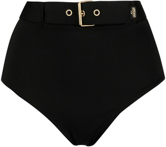 Moschino Buckle Belt Bikini Bottoms
