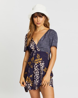 Double Rainbouu Tie Back Dress