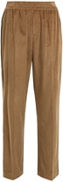 Brunello Cucinelli Side-stripe wide-leg corduroy trousers