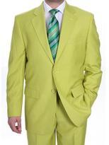 Ferrecci Men's Kiwi Two-button Suit