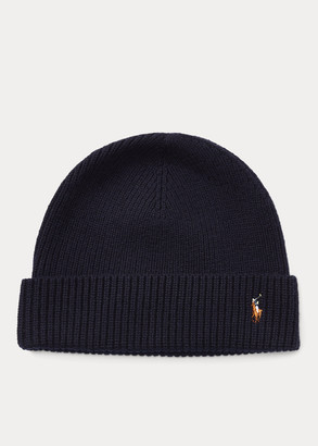 Ralph Lauren Signature Pony Wool-Blend Beanie