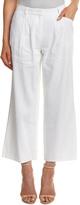 Lafayette 148 New York Petite Linen-Blend Crop Pant