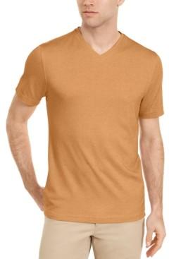 Tasso Elba Men's Supima Blend V-Neck Short-Sleeve T-Shirt, Created for Macy's