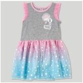 Cars Toddler Girls' Lightning McQueen Sleeveless A Line Dress - Heather Gray