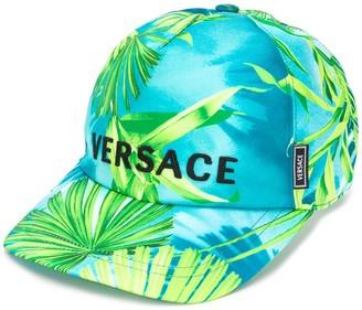 Versace Jungle Print Baseball Cap