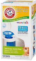 Munchkin Arm & Hammer Diaper Pail Refills - 12 Pack