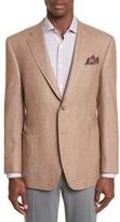 Canali Men's Classic Fit Silk & Cashmere Blazer