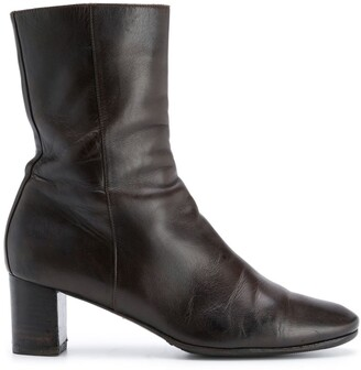Hermes 2000s Pre-Owned Mid-Calf Boots