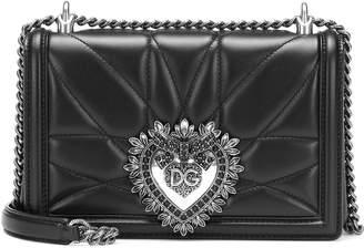 Dolce & Gabbana Devotion Medium leather shoulder bag